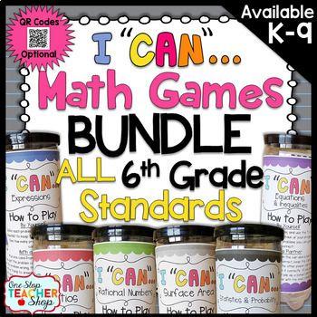 6th Grade Math Games 6th Grade Math Review Accs Block