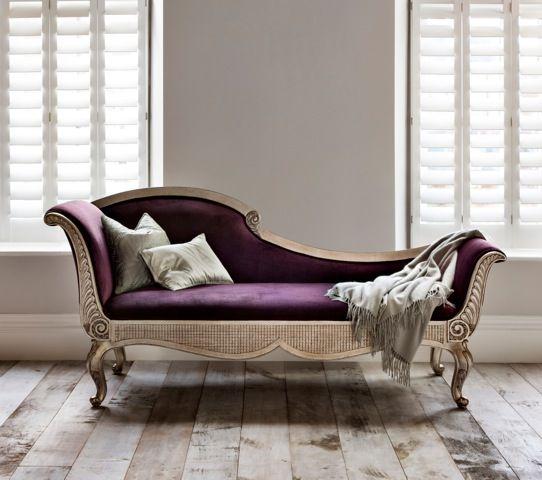 I love the deep purple here I can imagine a peaceful catnap - barock mobel versailles sofa