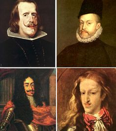 The House Of Habsburg Has Its Typical Characteristics Of A Prominent Jaw And Lower Lip Clockwise From The Top Ph History European Royalty Historical Painting