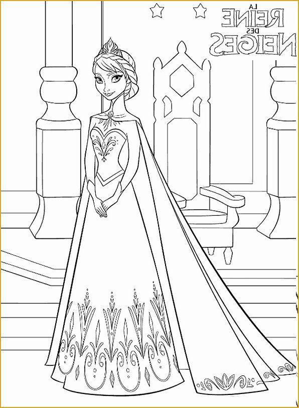 coloriage de la reine des neiges a imprimer gratuit autre coloriage de la reine des neiges ...
