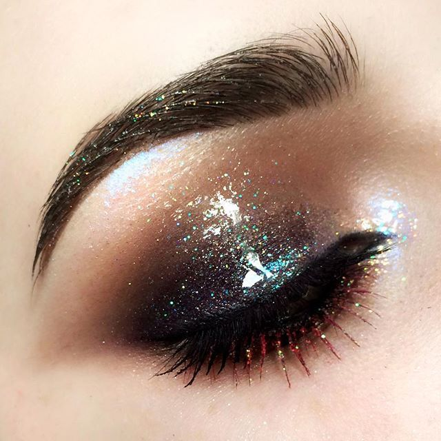 Makeup Glitter Tumblr Maquillaje Pinterest Makeup Inspo And