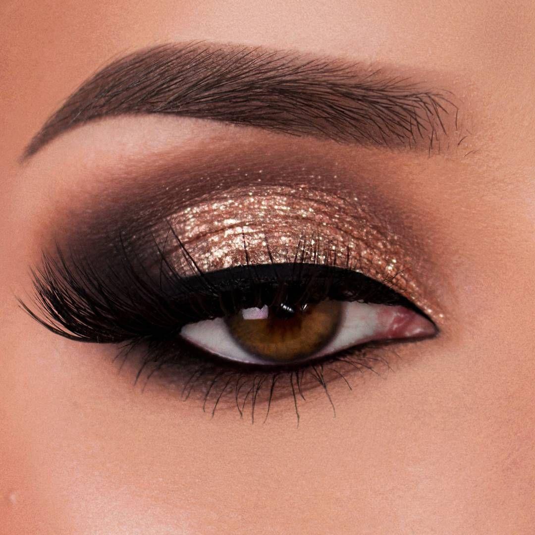 """Photo of Vanessa på Instagram: """"Cool ton"""" Jag älskar Stila Glitter och Glow ögonskugga, jag måste köpa fler färger så snart som möjligt. [Anzeige/Ad] Produkter som används: Dip Brow Pomade in … """""""