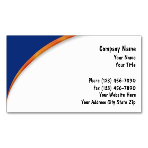 Insurance Business Cards Zazzle Com Simple Business Cards