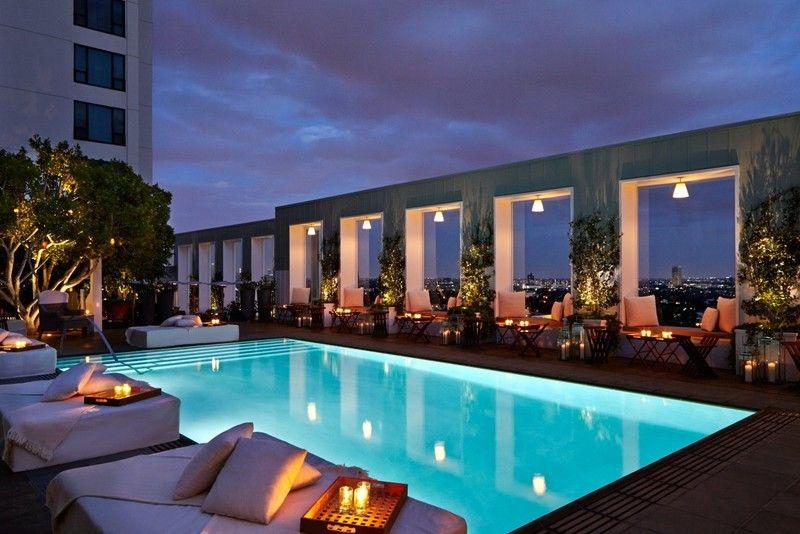 Skybar Mondrian Hotel