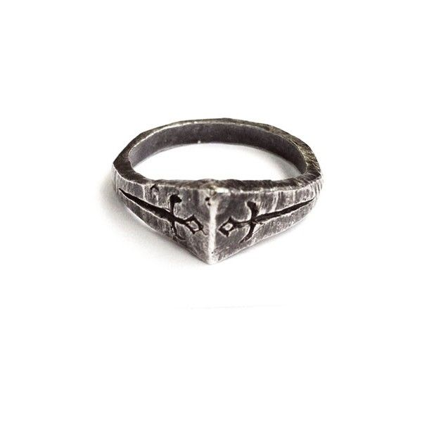 Unearthen The Wild Unknown Two Of Swords Ring 165 Liked On Polyvore Featuring Jewelry Rings Accessories Peace Jewelry Rings For Men Symbolic Jewelry
