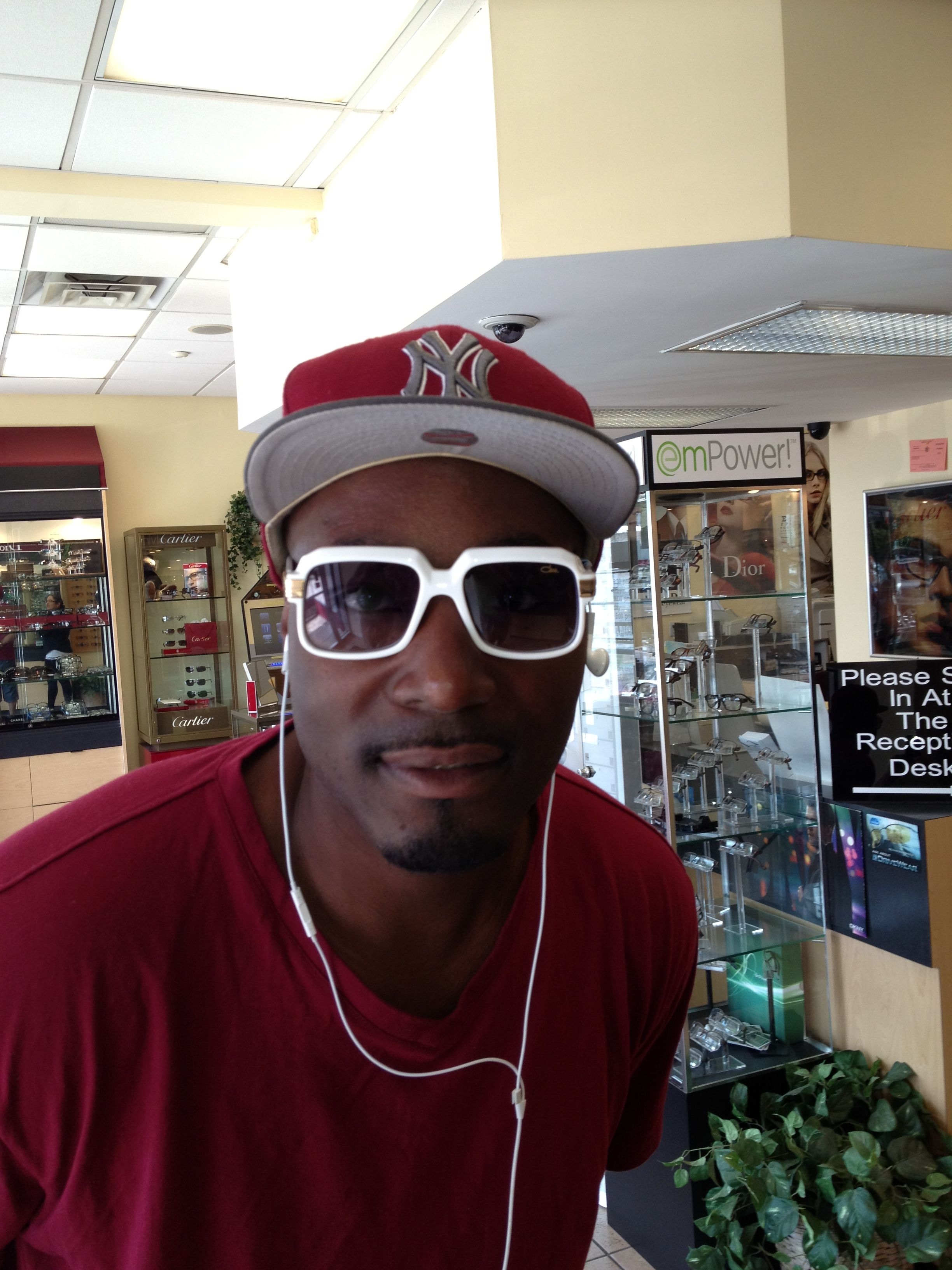 8c7fae29e7ad Limited edition  cazal 607 in white! Worn by Sha Mack in the BX!   metro optics