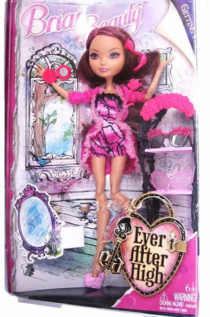 Briar Beauty GETTING FAIREST version doll from Ever After High
