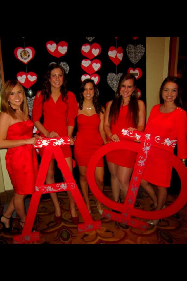 7e17b8332a6 Alpha Phi DePaul University Red Dress Gala - The Palmer House ...