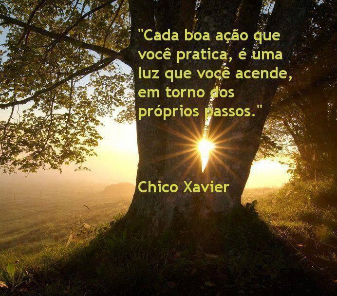 Chico Xavier Com Imagens Frases Espiritas Mensagens Espiritas