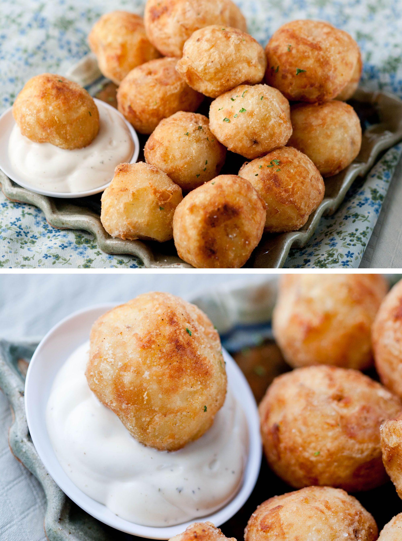 Deep Fried Whole Baby Potatoes Food Savoury Food Savory Appetizer