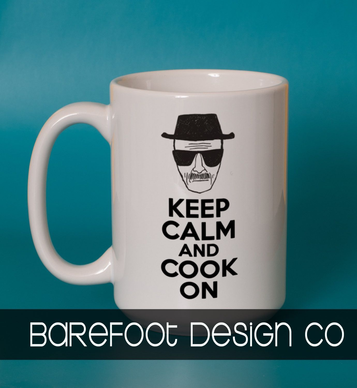 Keep Calm and Cook On Breaking Bad Mug Super FAST SHIPPING!