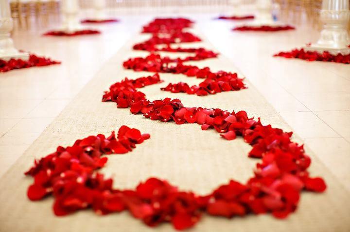Rose Petals Indian Wedding Decorations Freeze Dried Rose Petals Wedding Decor Photos