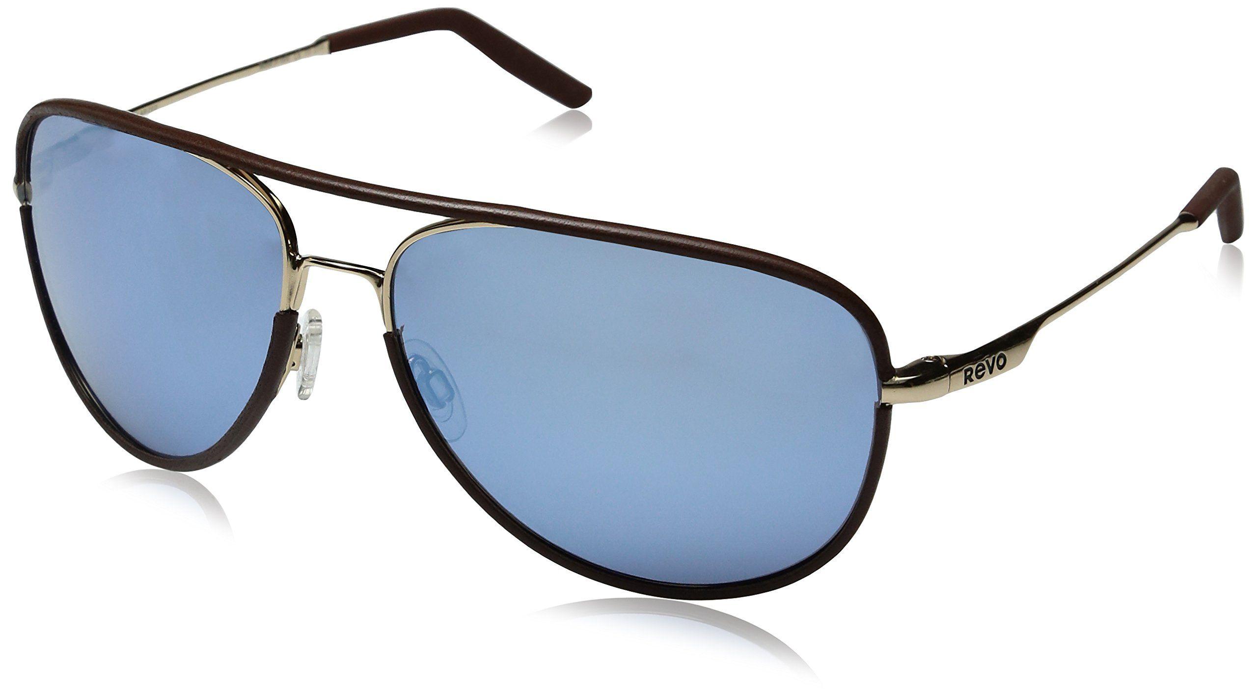 5b78e83d8ca Revo Carlisle Polarized Aviator Sunglasses