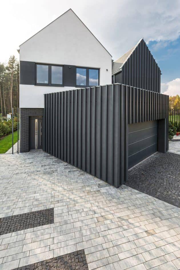 Zaun Haus Nach Modus Lina Architekci In Borowiec Polen In 2018