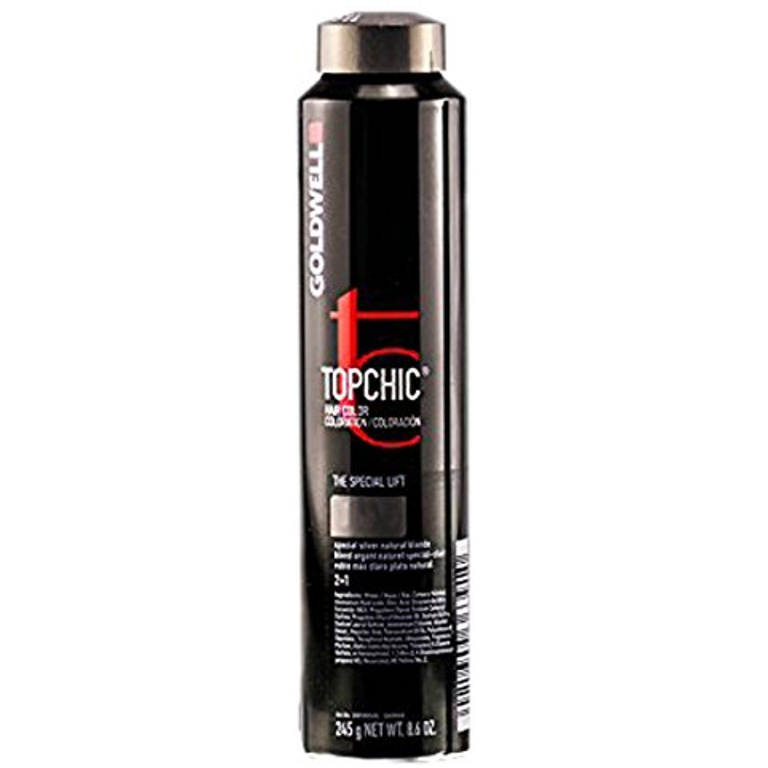 Goldwell Topchic Hair Color Coloration Can 7a Mid Ash Blonde
