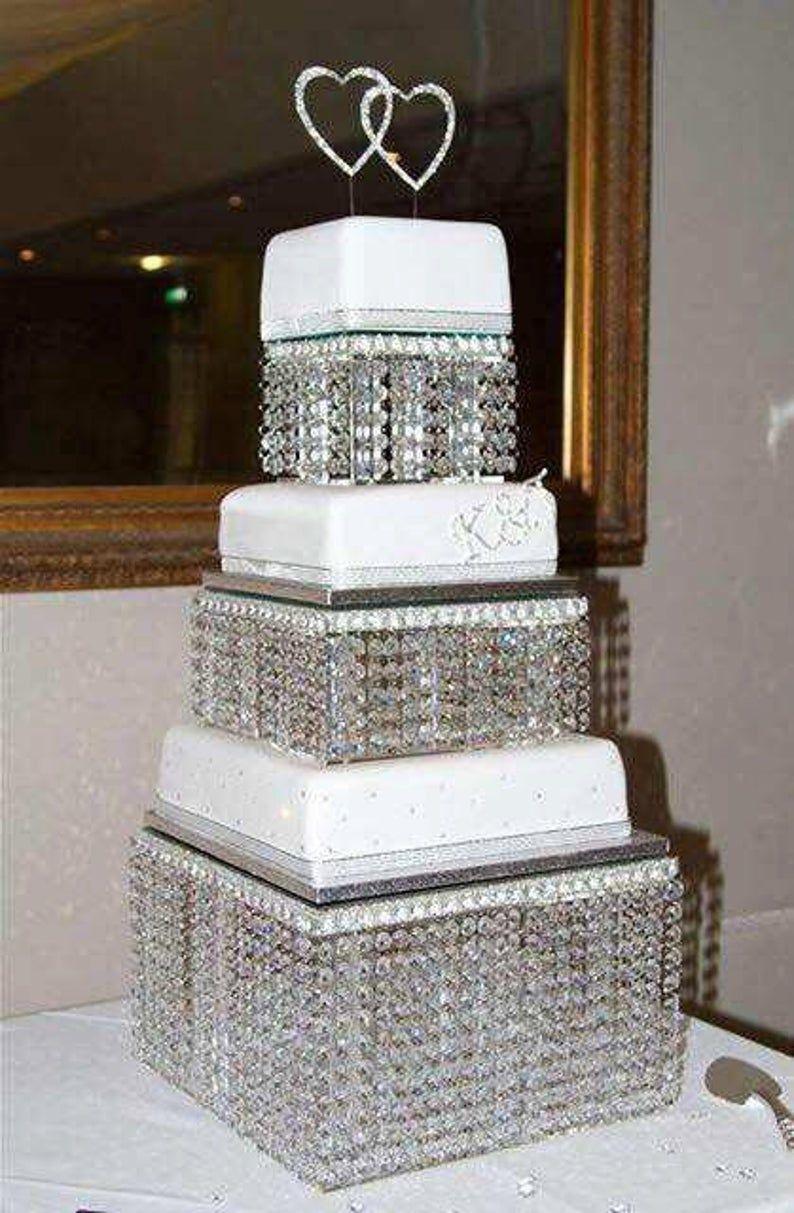 46+ Wedding cake plates and pillars ideas