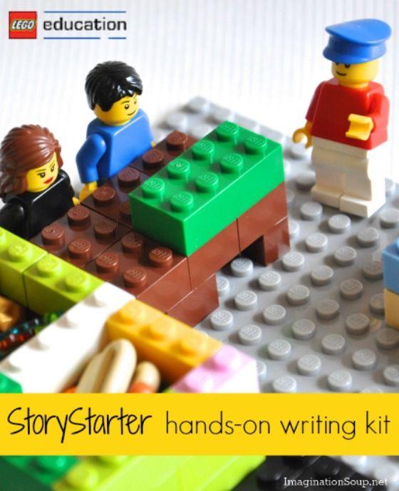 LEGO® Education Kit Gets Kids Writing | Kids writing, Lego and ...