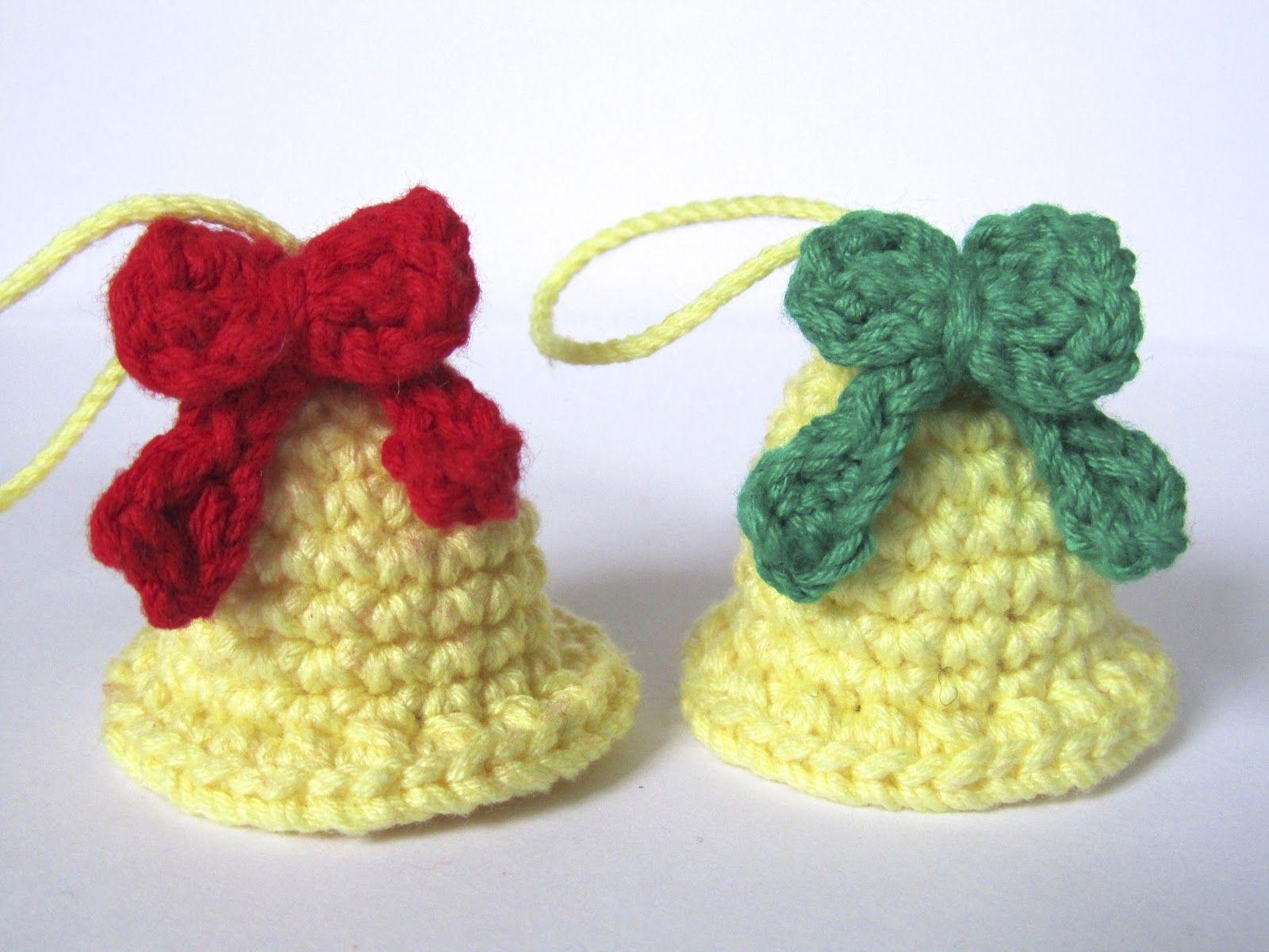 crafteando que es gerundio patrn campanas navideas pattern christmas bells