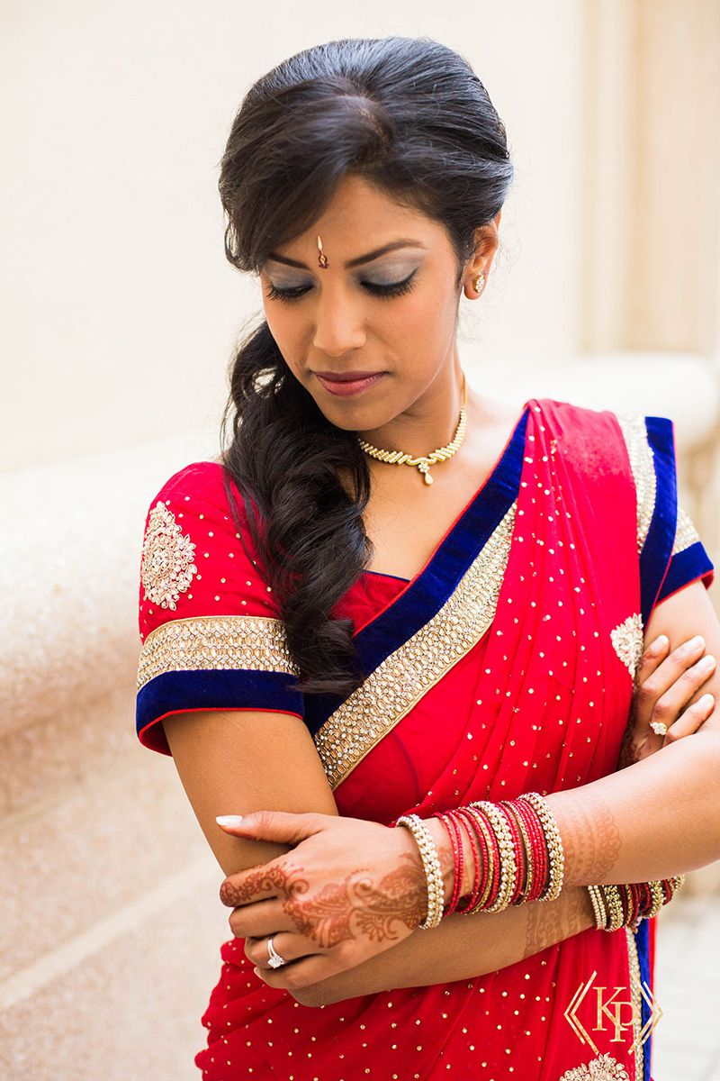 Sangeet Hair And Makeup By Badar Hair N All In Tampa Photo