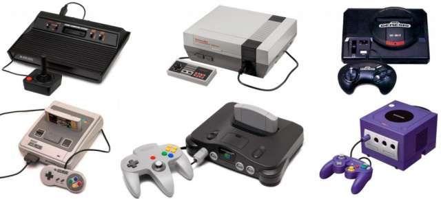 consolas de videojuegos retro
