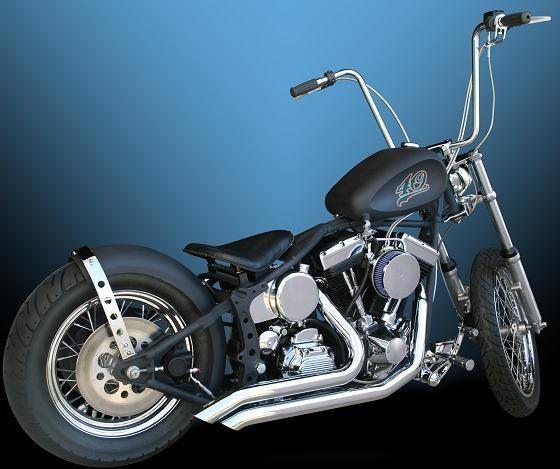 99 Harley Softail Davidson Bobber Chopper Built By B Dillender