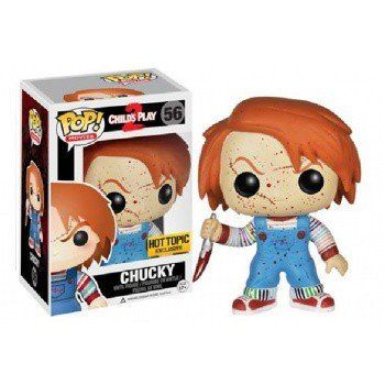 Funko Pop! Movies: Childs Play 2 Chucky 25th Anniversay Hot Topic Exclusive Blood Splatter Variant