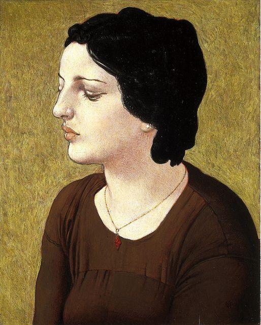 Werner Tübke- Rosaalba aus Sizilien, 1976