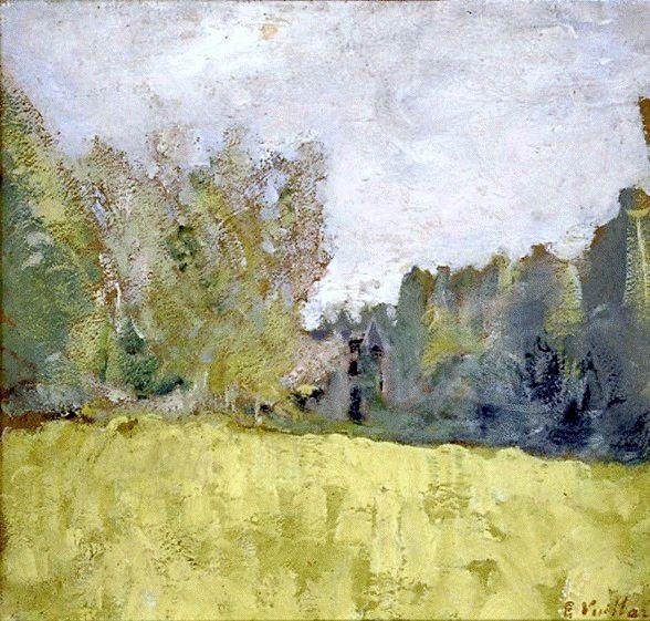 Edouard Vuillard / Le pré vert, entre 1905 et 1907
