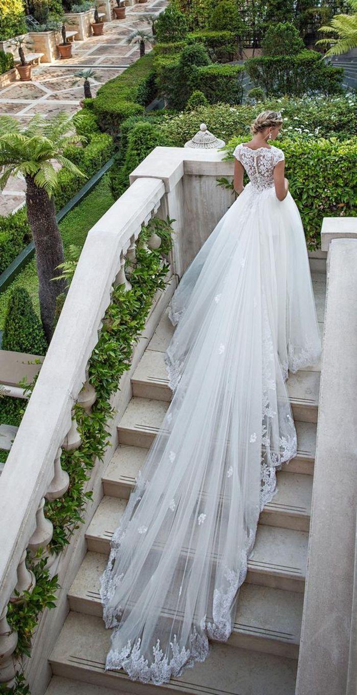 Hochzeitskleid Lange Schleppe  Hochzeitskleid lange schleppe