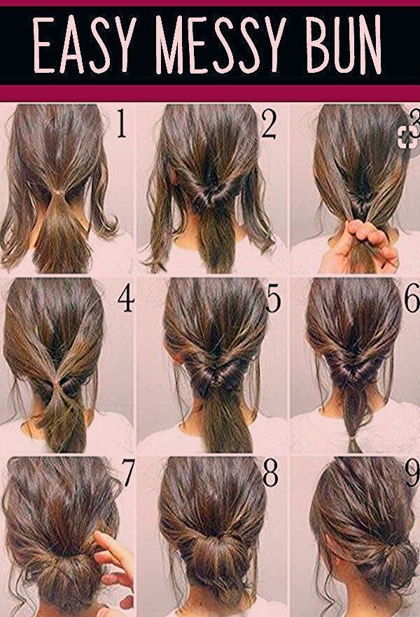 Wedding Hairstyles Simple Messy Bun Hairstyles And More Gorgeous Wedding Hairstyles Hairstyles Messy Bun Hairstyles Hair Styles Bun Hairstyles