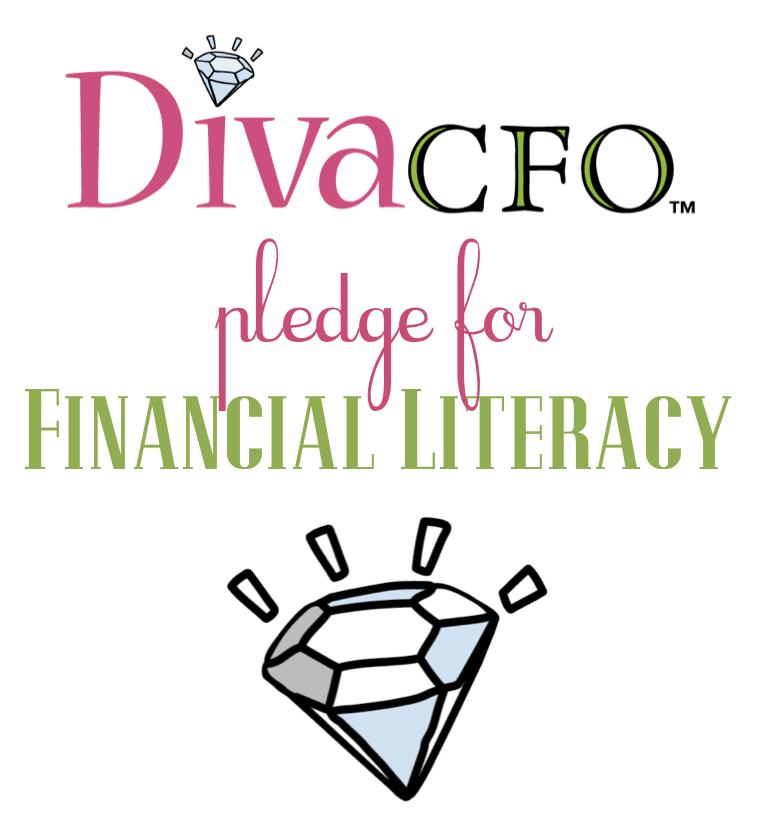 Take the DivaCFO pledge! Financial literacy, School