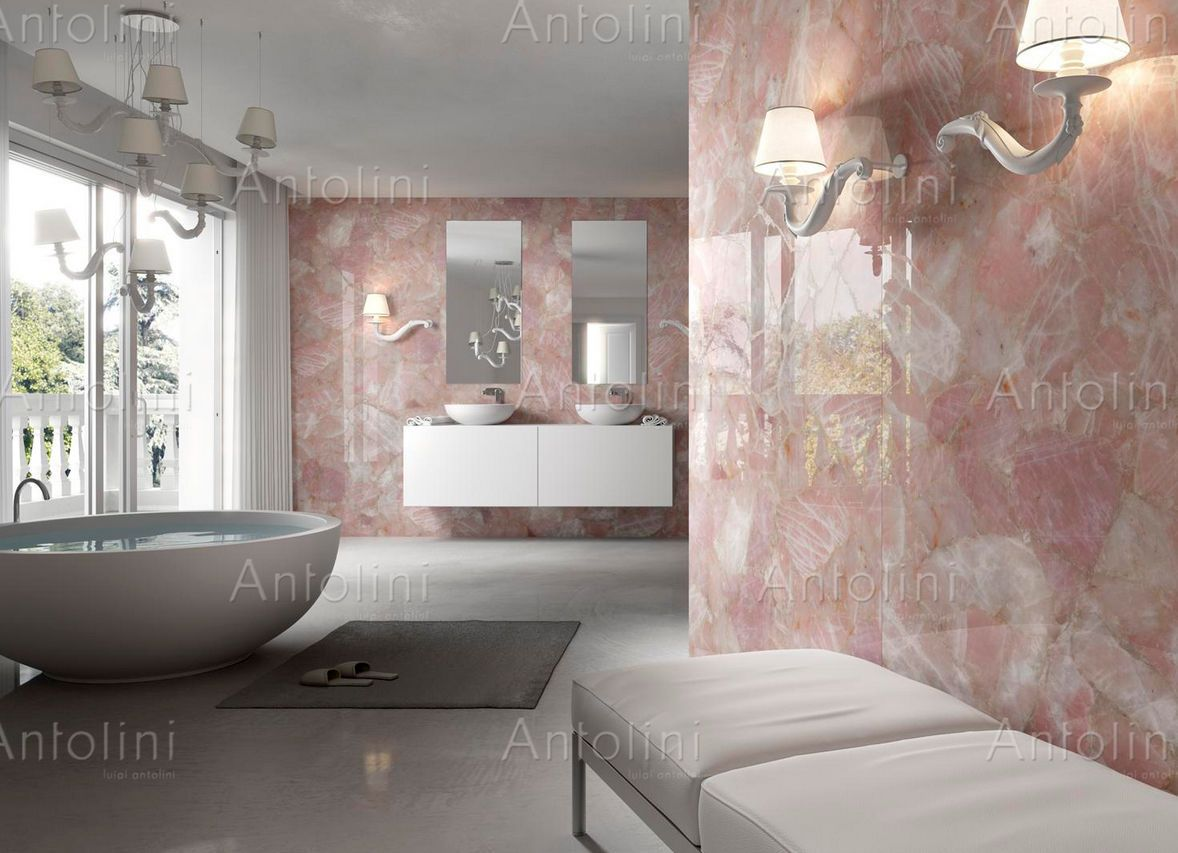 Indoor tile wall mounted floor quartzite precioustone indoor tile wall mounted floor quartzite precioustone collection rose quartz dailygadgetfo Image collections