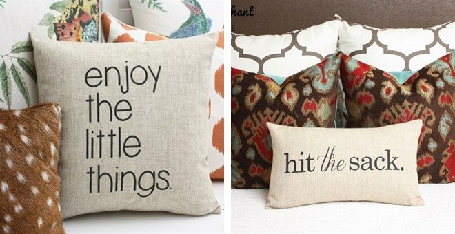 """enjoy the little things"" decor"