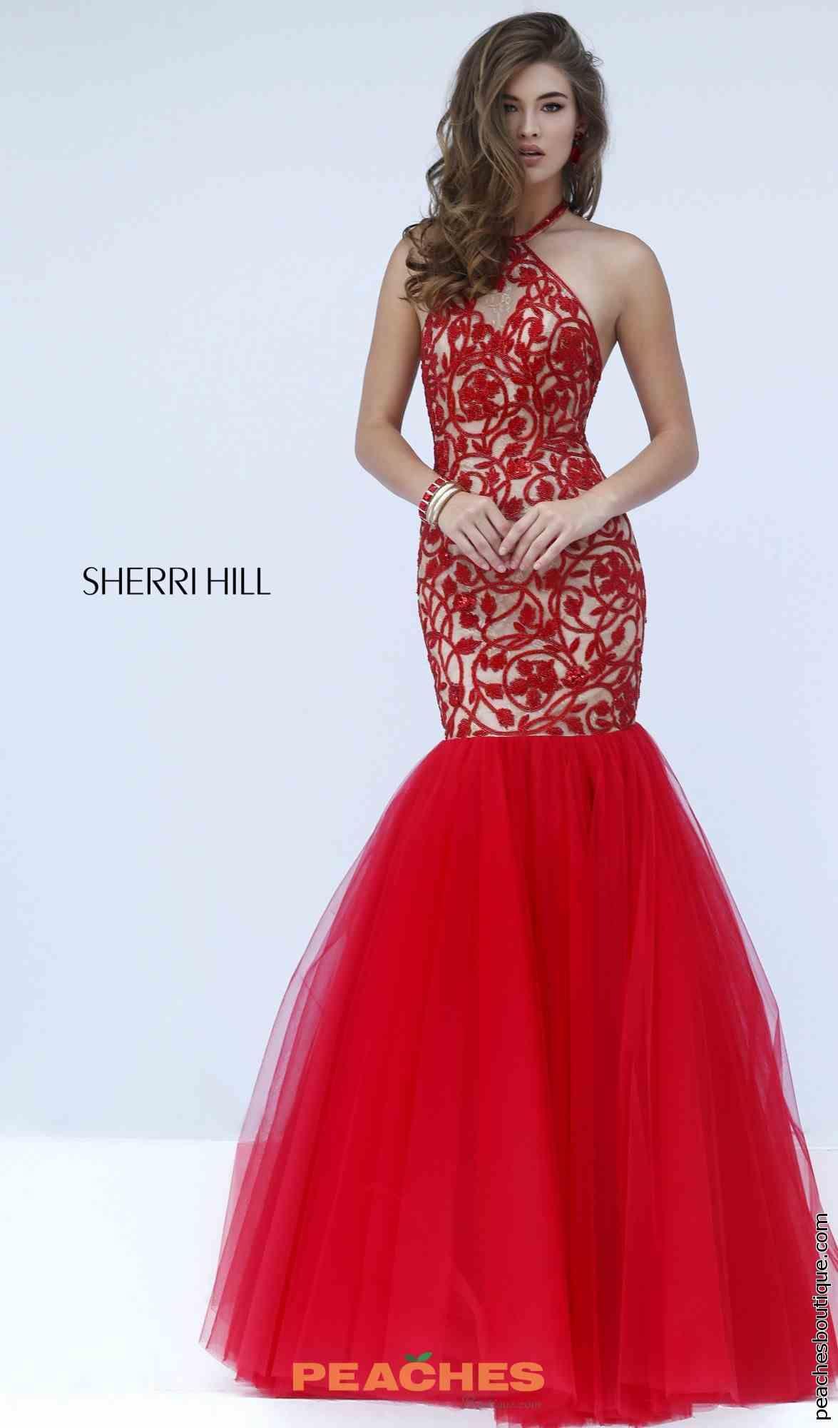 5faa3acf841 Sherri Hill Dress 50015