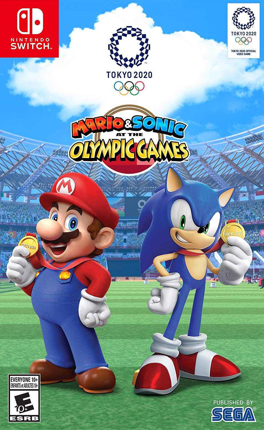 Mario Sonic At The Olympic Games Tokyo 2020 Sega Nintendo Switch 010086770094 Walmart Com In 2021 Nintendo Switch Games Olympic Games Mario