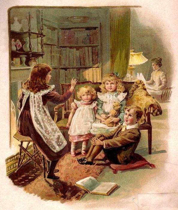 Школа старинные открытки, картинках