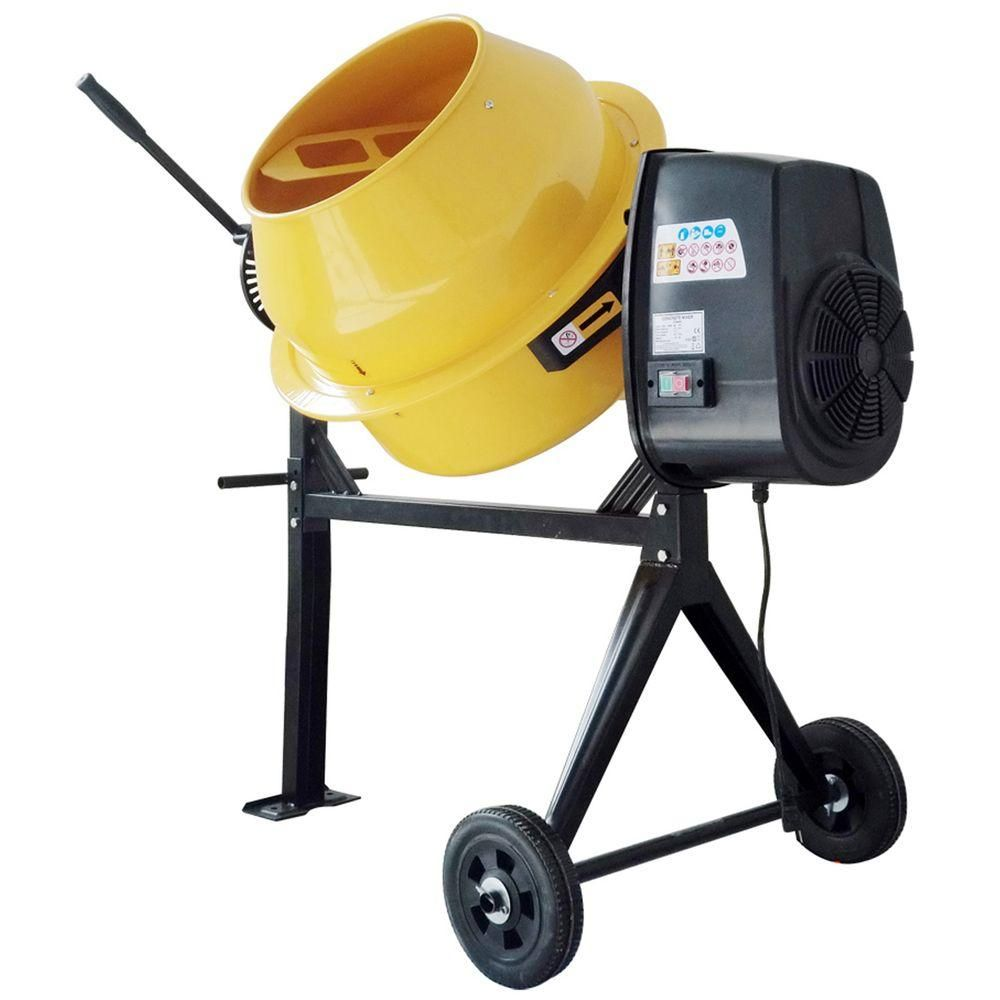 PRO-SERIES 3.5 Cu. Ft. 1/3 HP Contractor Duty Cement And