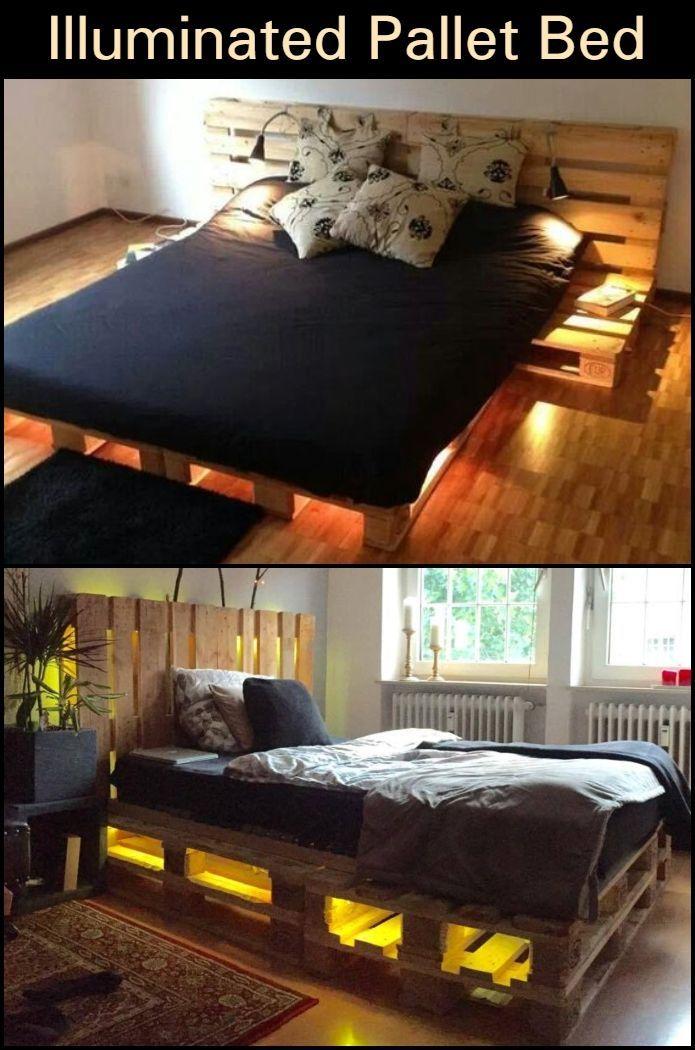Pallet Furniture Diy Bedroom Night Stands