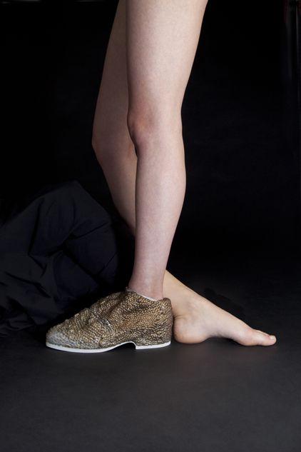 Embodied. 2013. Footwear by Anne Vaandrager. Photography by Juuke Schoorl.