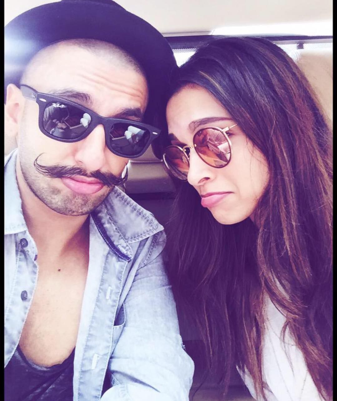 Deepika Padukone On Instagram Selfies Are Too Cute Deepikapadukone Ranveersingh Deepika Ranveer Deepika Padukone Bollywood Couples