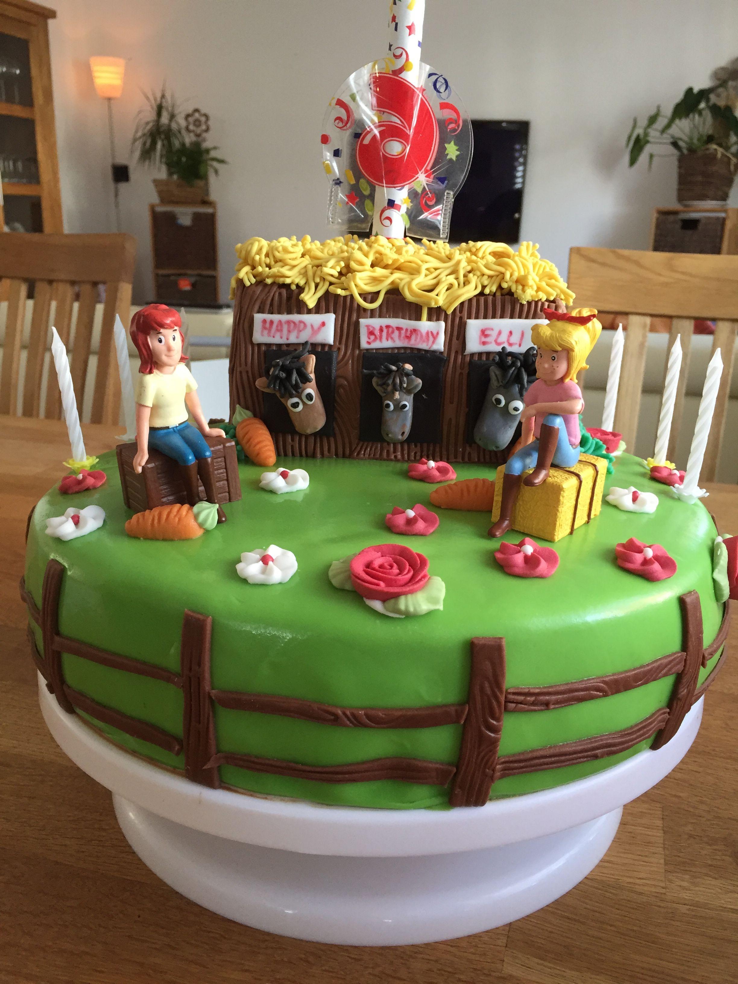 Bibi Und Tina Torte Bibi Und Tina Torte Torte Kindergeburtstag Kuchen Kindergeburtstag