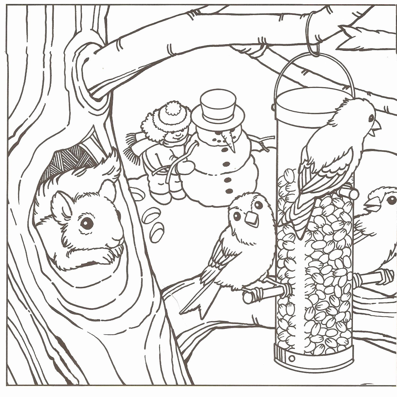 - Winter Coloring Sheets Free Printable In 2020 Cool Coloring