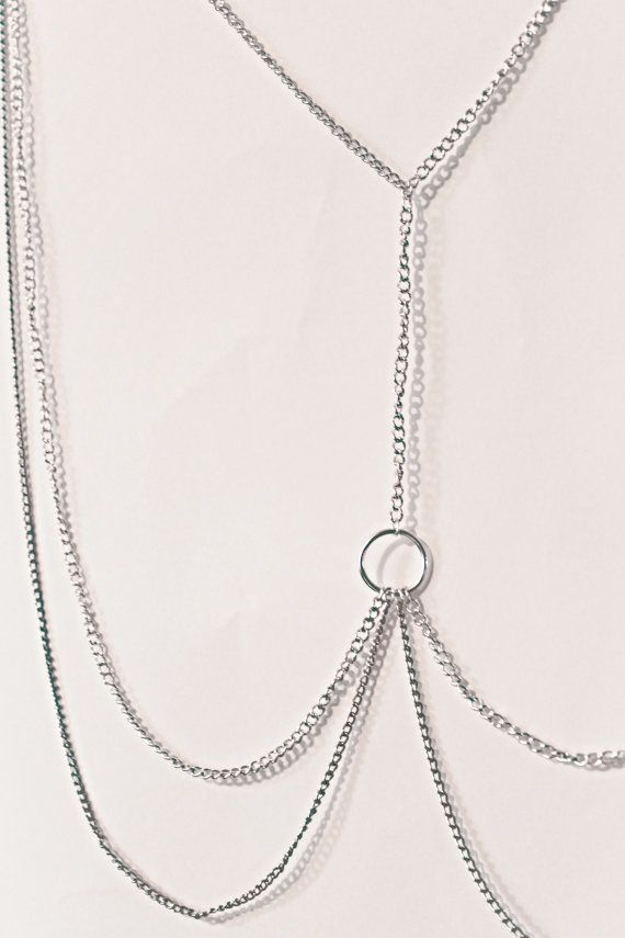 Silver Thigh Chain by NatashaDay27 on Etsy, £5.99