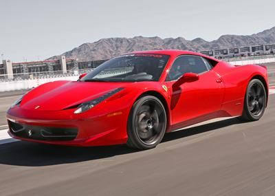 Exotics racing school is open 7 days a week at the las for Exotic car las vegas motor speedway