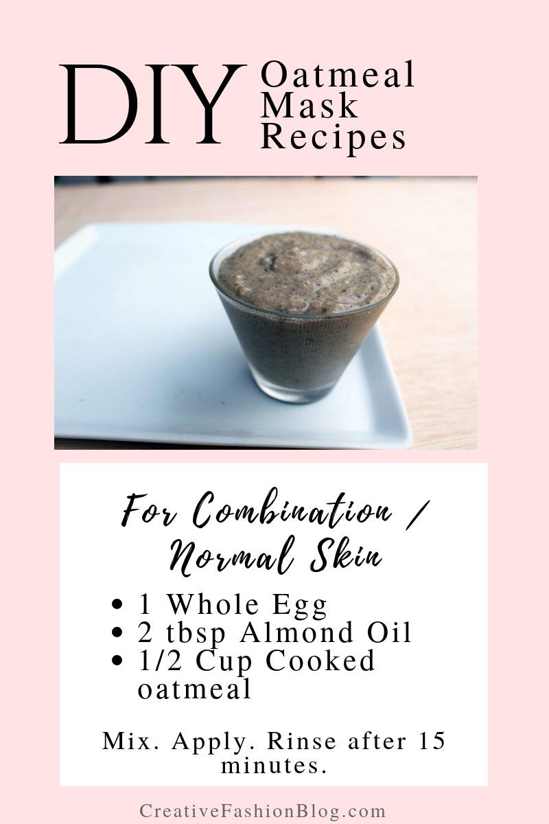 The Ultimate Diy Oatmeal Mask For Dry Combination And Normal