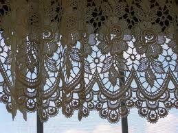 Belgian Lace Valances Google Search Lace Curtains Vintage