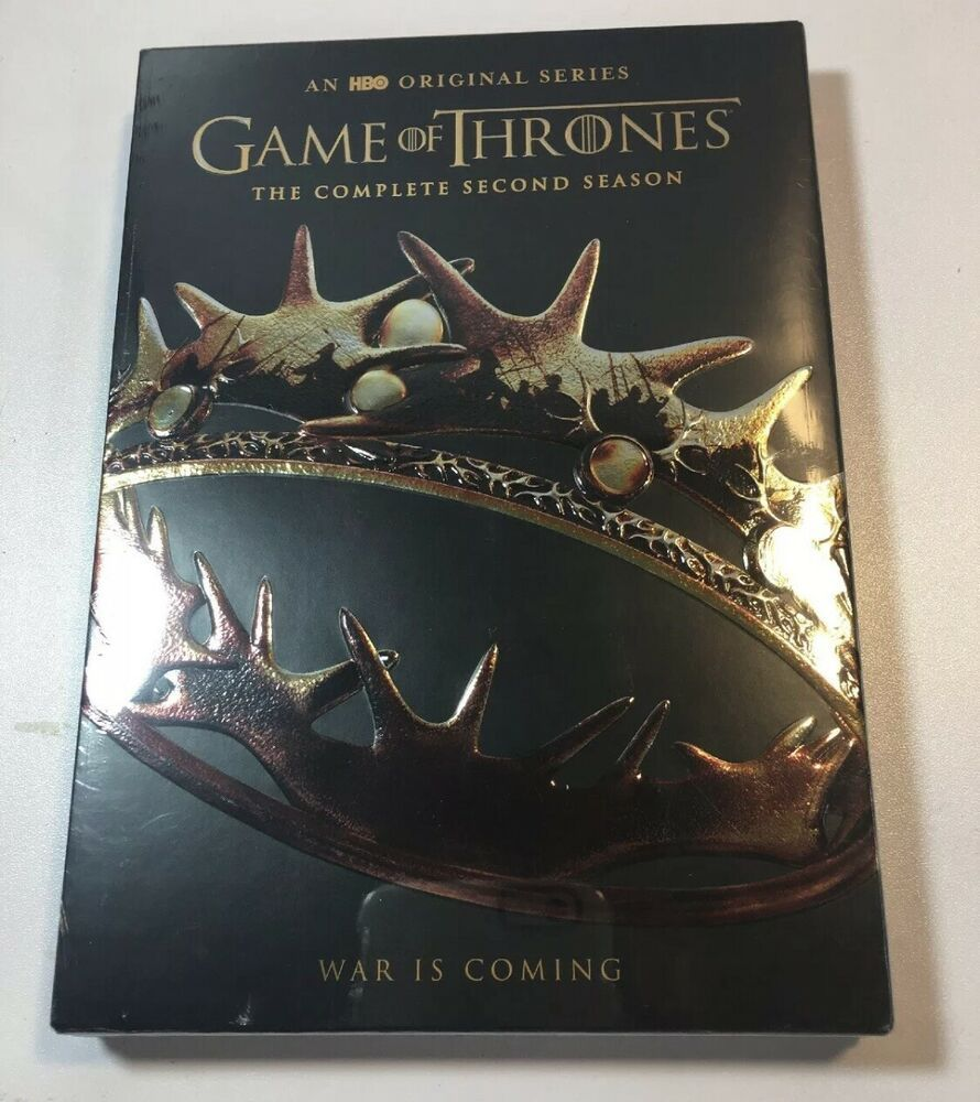 Game of thrones season 2 dvd 2013 new the fast