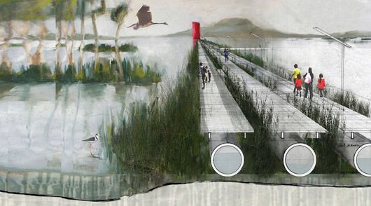 Landscape Architecture Section Drawings