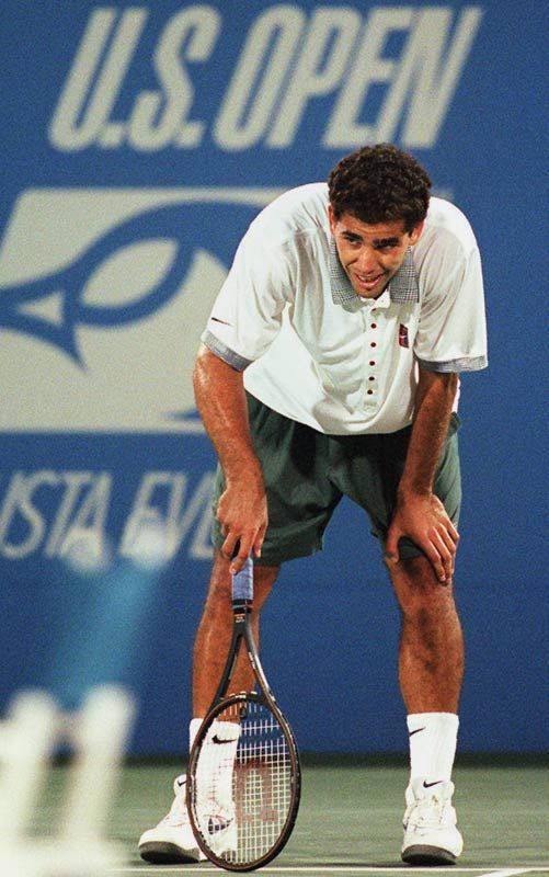 Pete Sampras d. Alex Corretja 1996 US Open quarterfinal. I watched every  agonizing minute of this and to this day still … | Tennis workout, Pete  sampras, Cnn sports