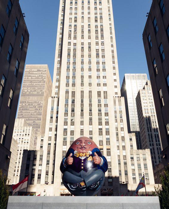 The Fabergé Big Egg Hunt | NYC |Humpty Dumpty | The Prince's Drawing School
